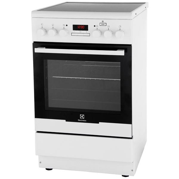 Электрическая плита (50-55 см) Electrolux EKC954909W шкаф изотта 23к дверь правая ангстрем