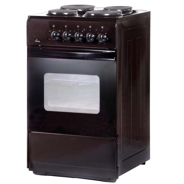 Электрическая плита (50-55 см) Flama AE 1403 Brown