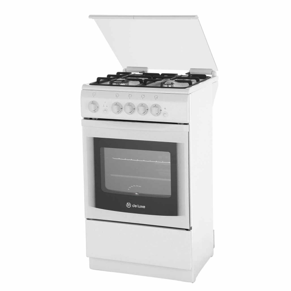 Газовая плита (50-55 см) De Luxe 5040.44Г(КР.) ЧР