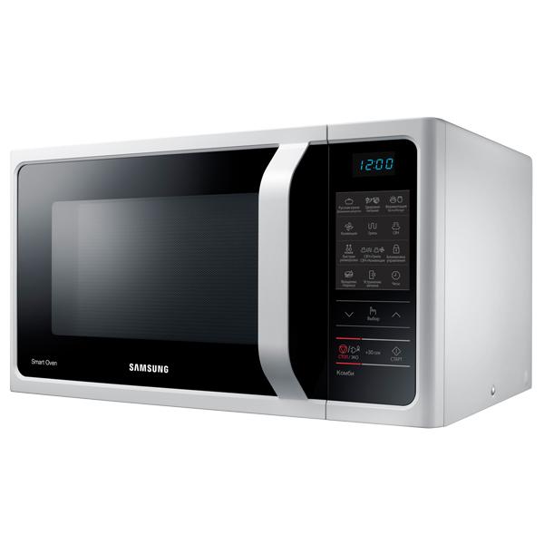 Микроволновая печь с грилем и конвекцией Samsung MC28H5013AW фото