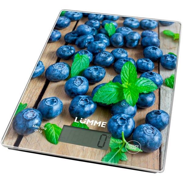 Весы кухонные Lumme LU-1340 Blueberry