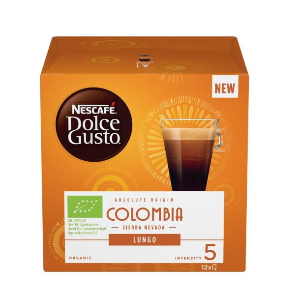 Кофе в капсулах Nescafe Dolce Gusto