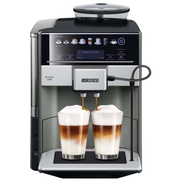 Кофемашина Siemens EQ.6 plus s500 (TE655203RW)