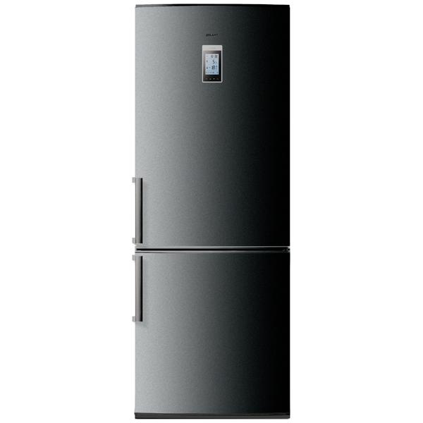 Холодильник с нижней морозильной камерой Широкий Атлант ХМ-4521-060-ND Dark Grey холодильник атлант хм 4521 080 nd