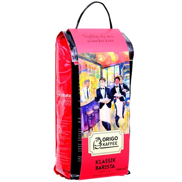 Кофе в зернах ORIGO Kaffee Klassik Barista Espresso 1 кг