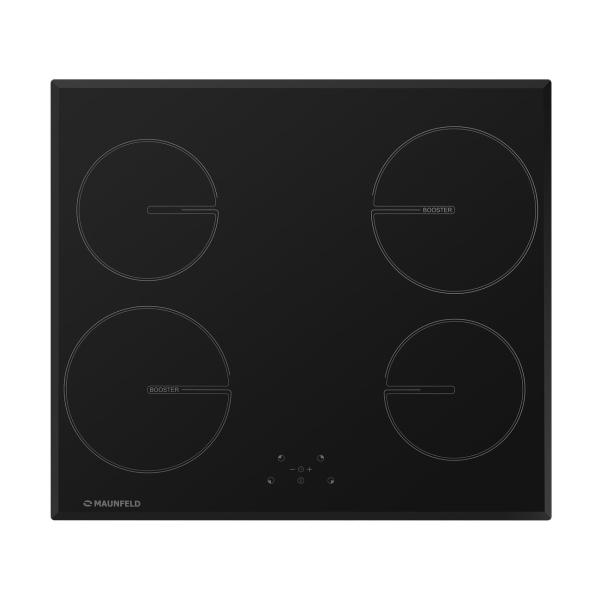 Встраиваемая индукционная панель Maunfeld MVI59.4HZ.2BT-BK Black