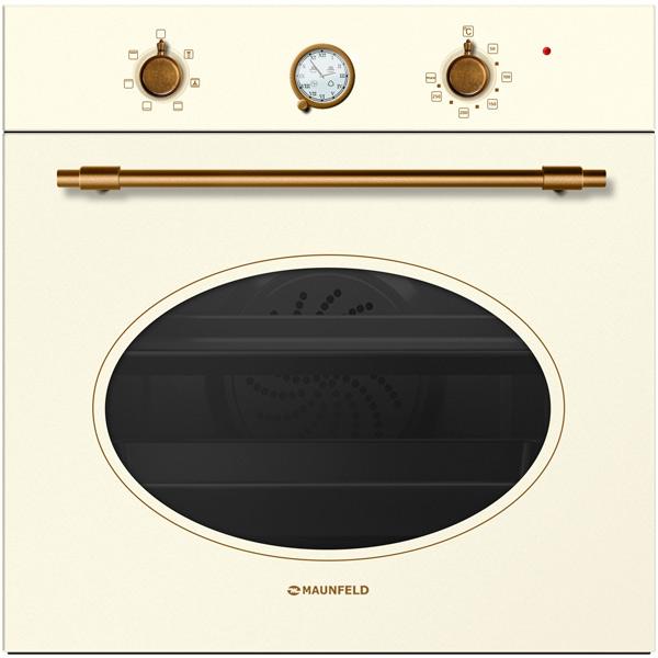 Электрический духовой шкаф Maunfeld MEOFG.676RILB.TRS Ivory