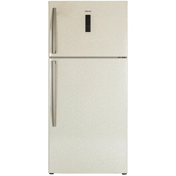 Холодильник с верхней морозильной камерой Широкий Hiberg RFT-65D NFY