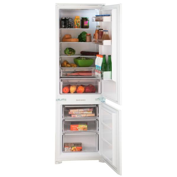 Встраиваемый холодильник комби Shivaki BMRI-1773