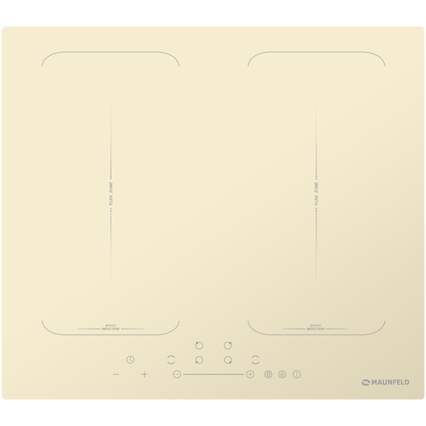 Встраиваемая индукционная панель независимая Maunfeld