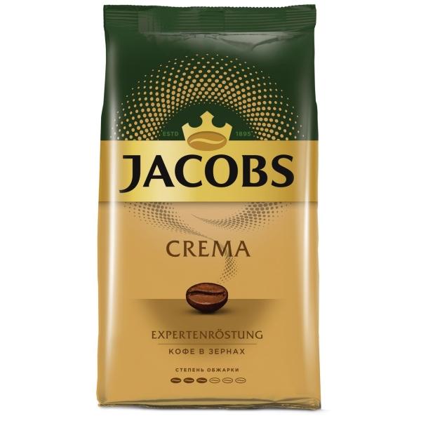 Кофе в зернах Jacobs Crema жареный в зернах 1000г