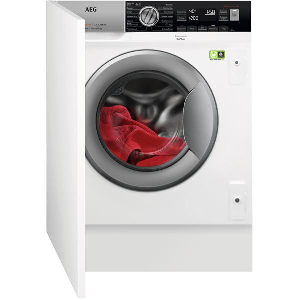 Встраиваемая стиральная машина AEG L8FBE48SRI