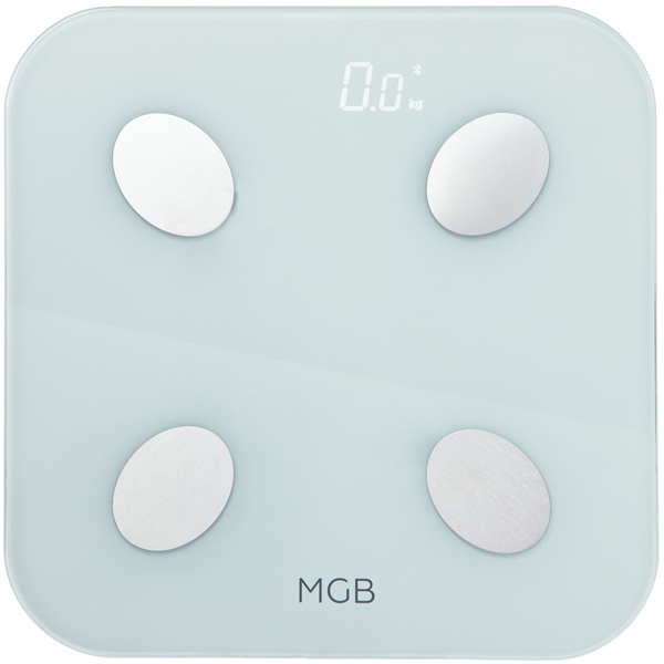 Умные весы MGB Body fat scale Glass Edition MGB F19 BW White