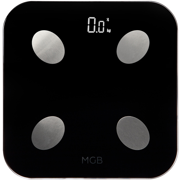 Умные весы MGB Body fat scale Glass Edition MGB F19 BB Black