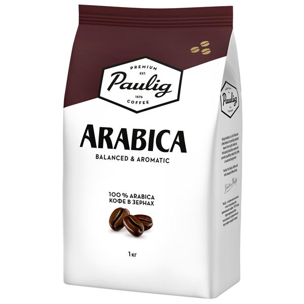 Кофе в зернах Paulig Arabica bean 1000g