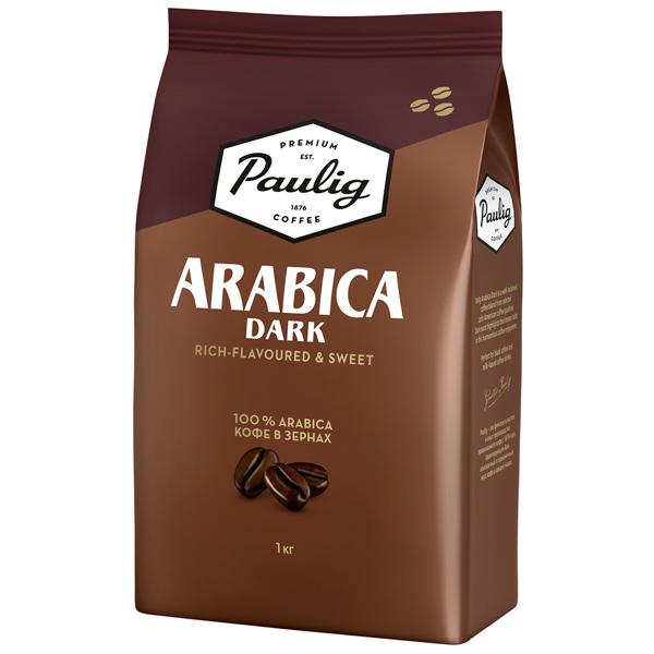 Кофе в зернах Paulig Arabica Dark bean 1000g