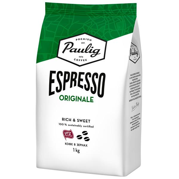 Купить Кофе в зернах Paulig Espresso Originale bean 1000g в каталоге интернет магазина М.Видео по выгодной цене с доставкой, отзывы, фотографии - Москва