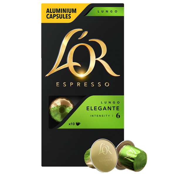 Кофе в капсулах L\'Or Espresso Lungo Elegante 52г