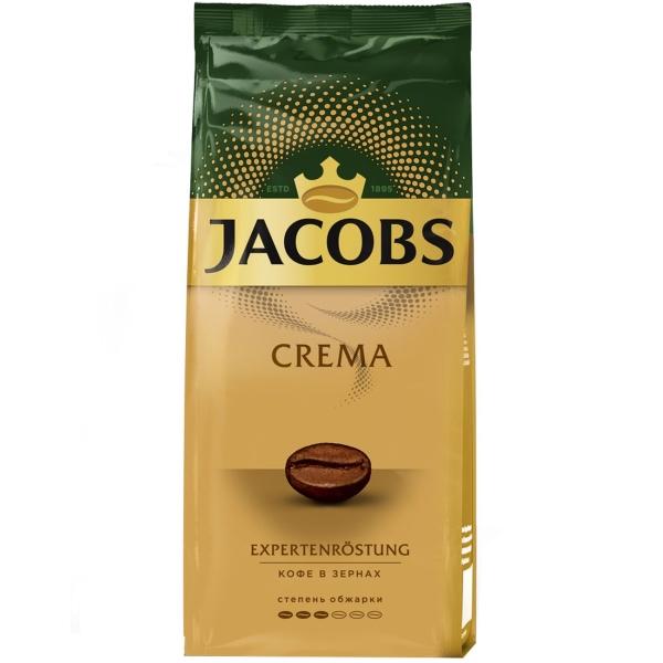 Кофе в зернах Jacobs Crema 230г в зернах фото