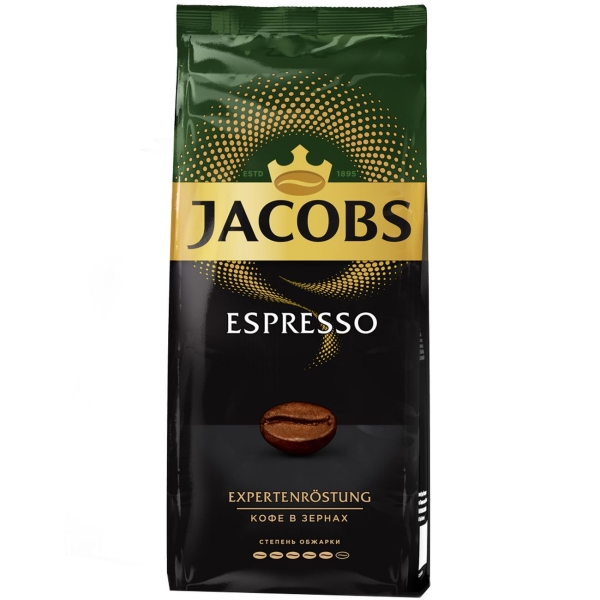 Кофе в зернах Jacobs Espresso 230г в зернах