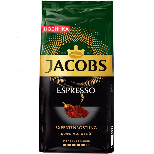 Кофе молотый Jacobs Espresso 230г