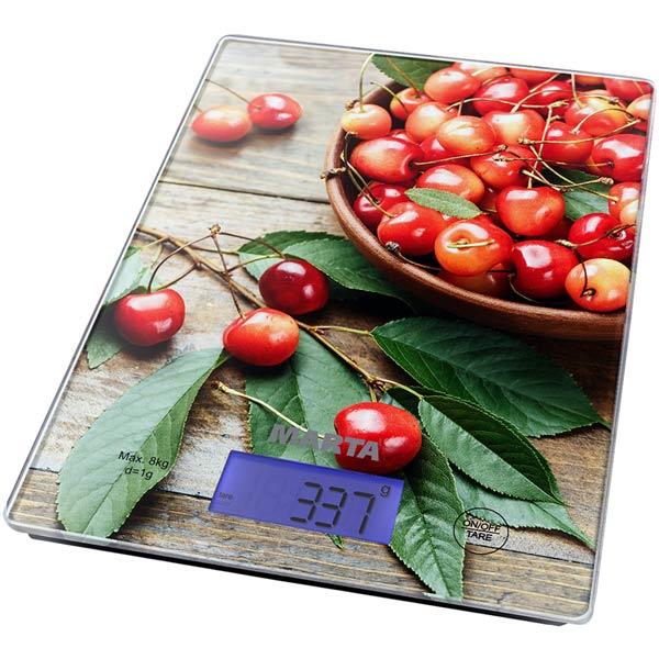 Весы кухонные Marta MT-1633 Розовая черешня