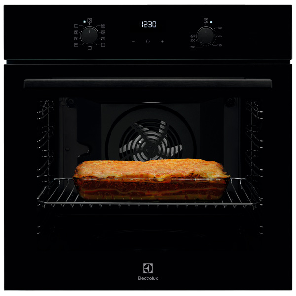 Электрический духовой шкаф Electrolux Intuit 600 OEF5H50Z черного цвета