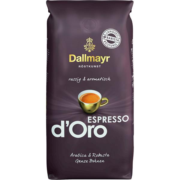 Кофе в зернах Dallmayr Espresso d`Oro 1000г
