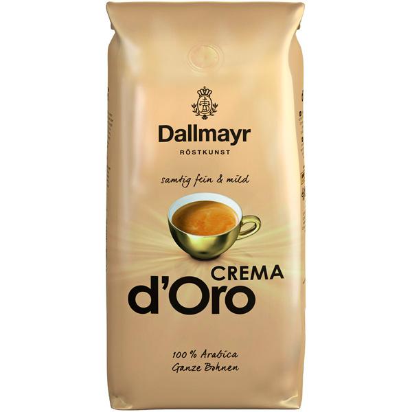 Кофе в зернах Dallmayr Crema d`Oro 1000г