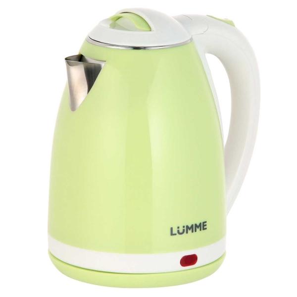 Электрочайник Lumme LU-145 Green Jade зеленый нефрит