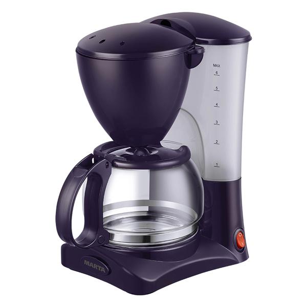 Кофеварка капельного типа Marta MT-2115 темный топаз
