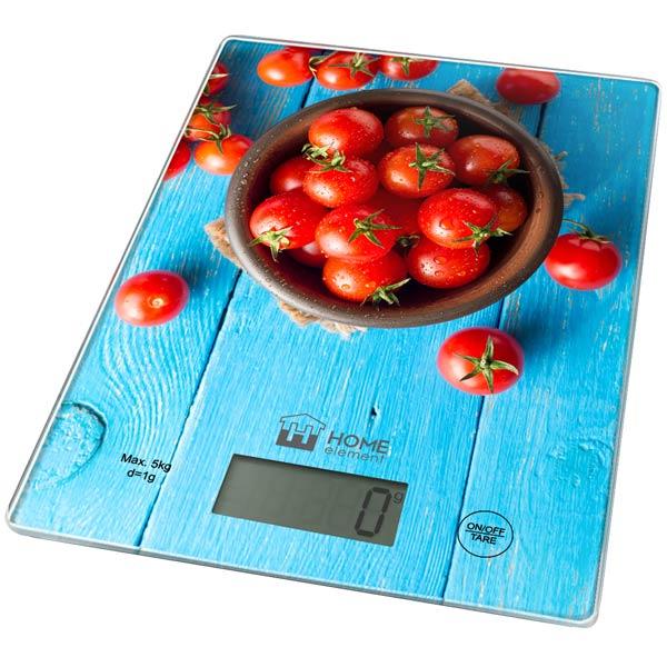 Весы кухонные Home Element HE-SC932 Tomato
