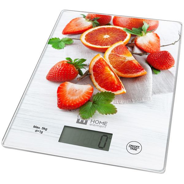 Весы кухонные Home Element HE-SC932 фруктовый микс