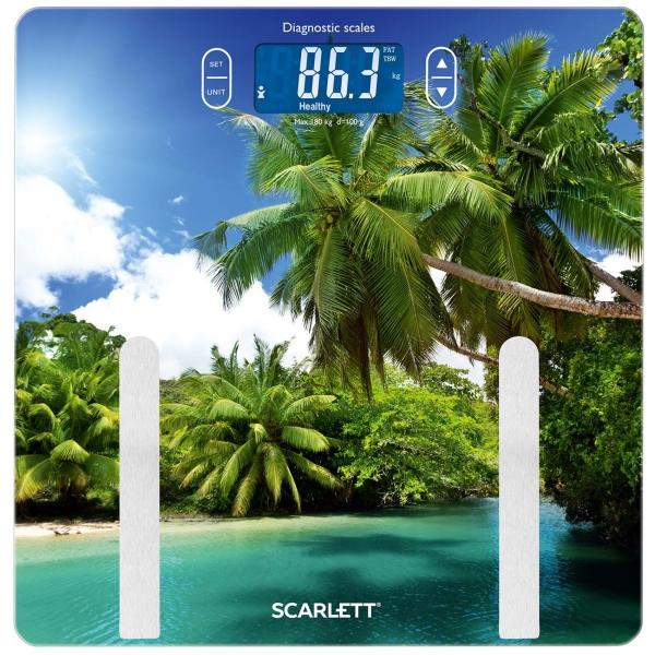 Весы напольные Scarlett — SC-BS33ED12