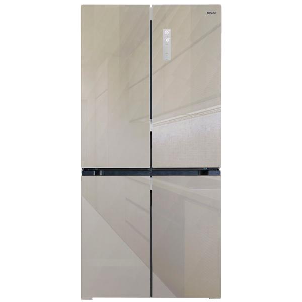 Холодильник многодверный Ginzzu NFK-575 Gold Glass