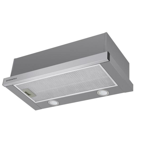Вытяжка встраиваемая в шкаф 50 см Maunfeld VS LIGHT 50 Inox