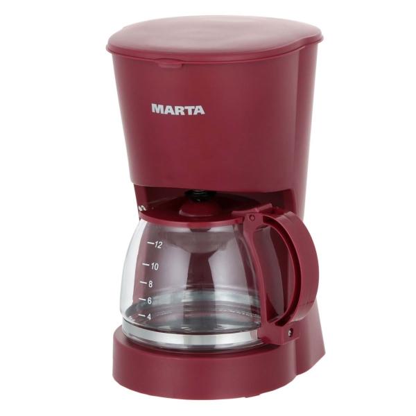 Кофеварка капельного типа Marta MT-2118 Vinous Garnet