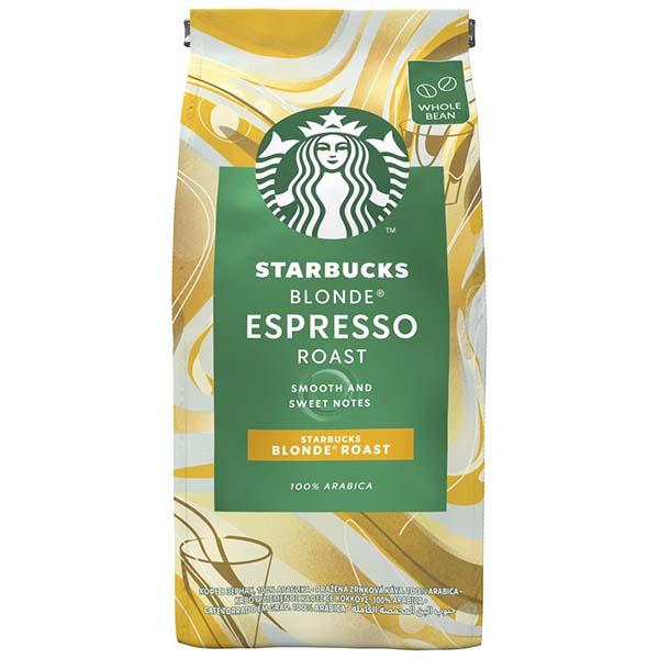 Купить Кофе в зернах Starbucks Blonde Espresso Roast светлая обжарка, 200 г в каталоге интернет магазина М.Видео по выгодной цене с доставкой, отзывы, фотографии - Москва