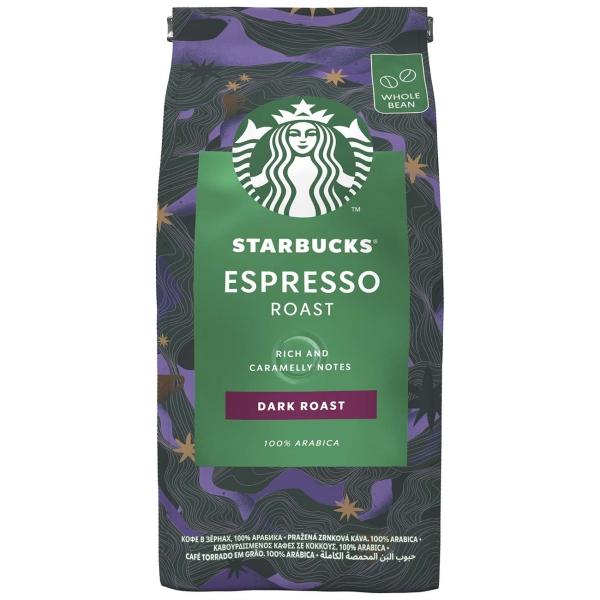 Кофе в зернах Starbucks Espresso Roast 200g