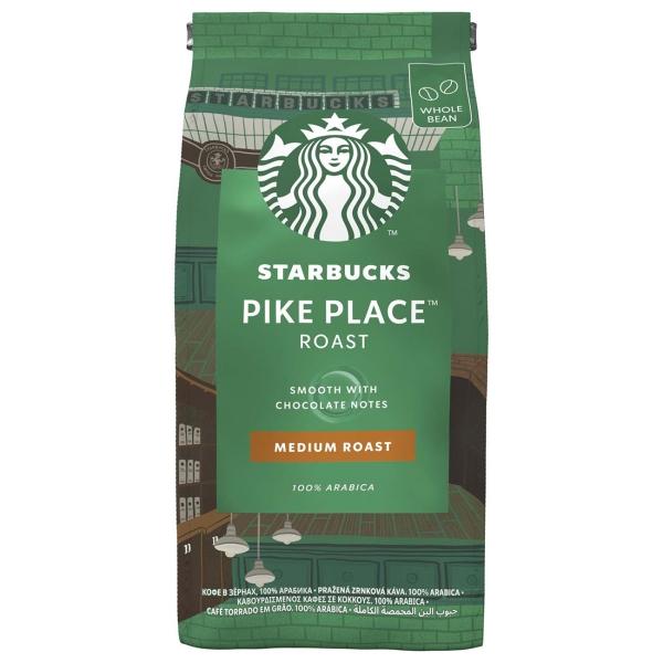 Кофе в зернах Starbucks Pike Place 200g фото
