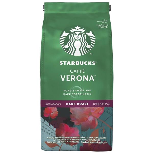 Кофе молотый Starbucks Caffe Verona 200g