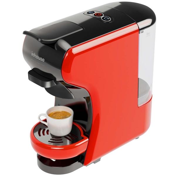 Кофемашина капсульного типа Inhouse Multicoffee ICM1901BR фото