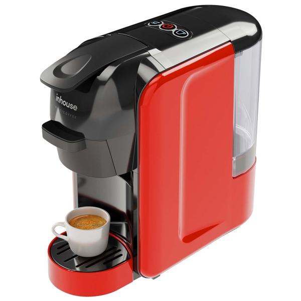 Кофемашина капсульного типа Inhouse Multicoffee ICM1903BR