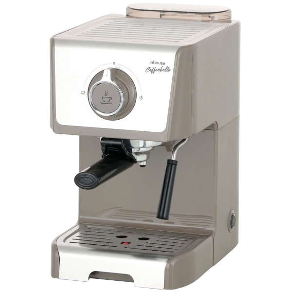 Кофеварка рожкового типа Inhouse Coffeebello ICM1802WG