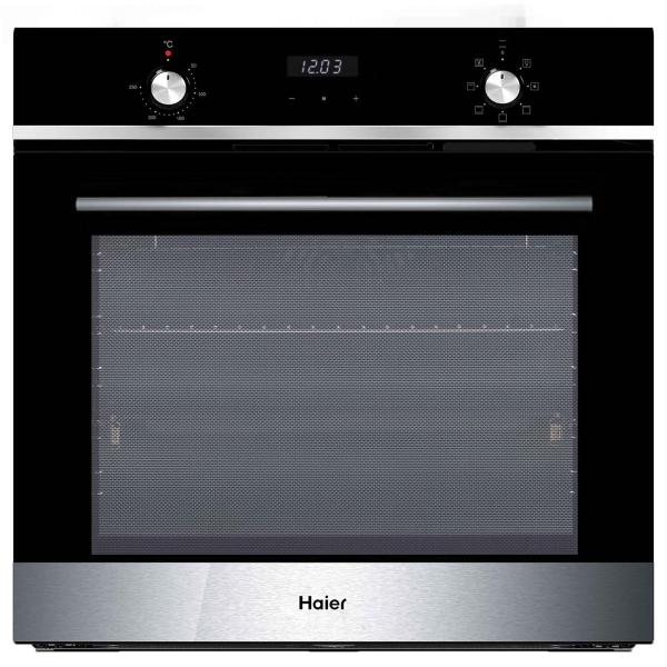 Электрический духовой шкаф Haier HOX-P06HGBX черного цвета