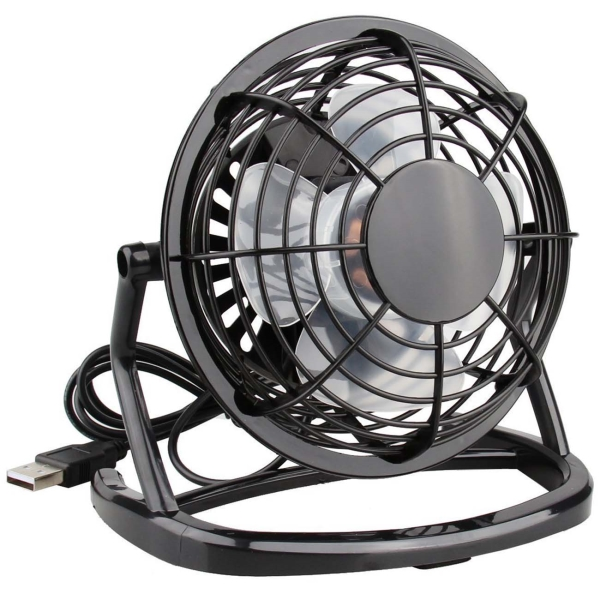 Вентилятор настольный Rix RDF-1500USB Black