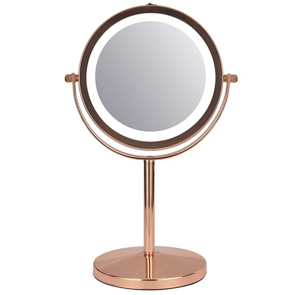 Купить Зеркало косметическое Planta PLM-1925 Copper в каталоге интернет магазина М.Видео по выгодной цене с доставкой, отзывы, фотографии - Москва
