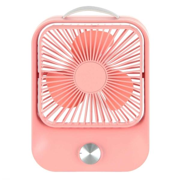 Вентилятор настольный Rombica NEO Flow Pink