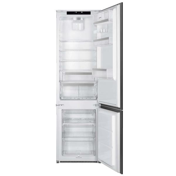 Встраиваемый холодильник комби SMEG C7194N2P