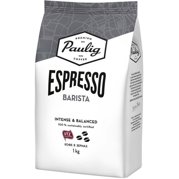 Кофе в зернах Paulig Espresso Barista 1000g кофе в зернах paulig espresso arabica italiano арабика 1000 г
